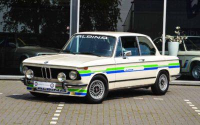 BMW 2002 Tii Alpina A4S – Chamonix