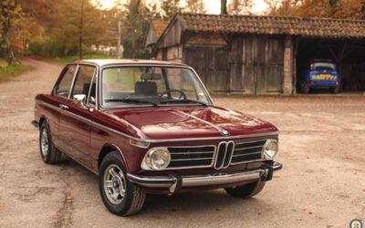 BMW 2002 Tii – Malaga red