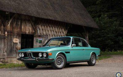 BMW 3.0 CSi – Türkis