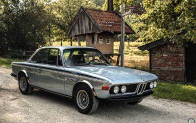 BMW 3.0 CSL  – Fjord Blue